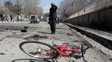 Suicide bomber kills at least 29 near shrine in Afghan capital