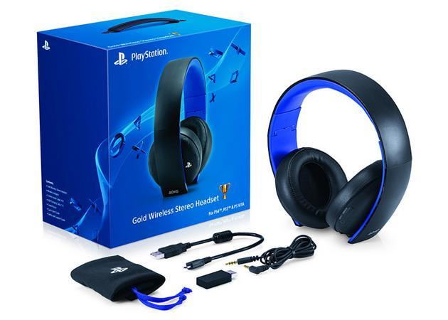 PlayStation 4 update supports Sony's pricey headsets, including a new model