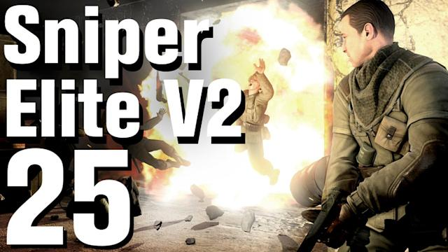Sniper Elite V2 Walkthrough Part 25 - Tiergarten Flak Tower