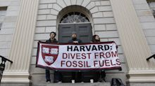 Harvard 'pausing' investments in some fossil fuels