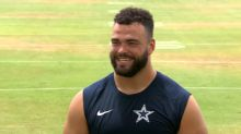 DOUBLE DUTY: Cowboys offensive lineman Connor Williams working as back up center