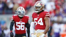 49ers activate linebacker Fred Warner from reserve/COVID-19 list