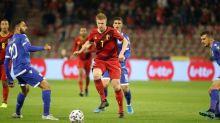 Foot - L. Nations - BEL - Belgique:Kevin de Bruyne pourrait manquer lematch contre leDanemark