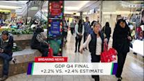 Stock Market Slide, GDP numbers and expectations for Yellen's speech