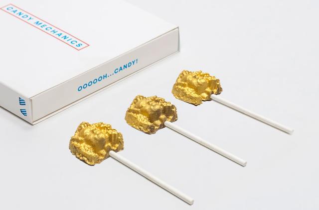 Candy Mechanics turns heads into 3D chocolate lollipops