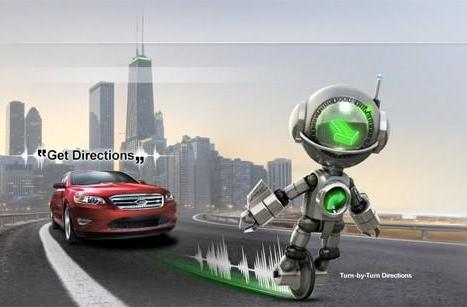 Send to SYNC enables BT phones to beam Google Maps to Ford navigation systems