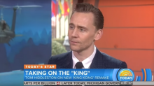 Feel the awkwardness as Tom Hiddleston bats back Taylor Swift interview question