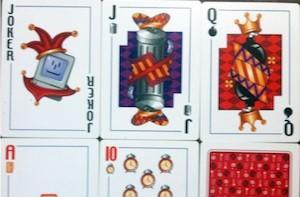 Rare official Apple playing cards up for auction on eBay