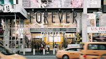 What's the status of Forever 21 stores in Triad?