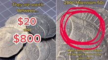 TikTok video reveals 50c coin that could make you hundreds