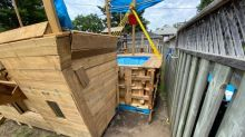 Toronto family forced to dismantle, move backyard 'pirate ship' after complaint to city