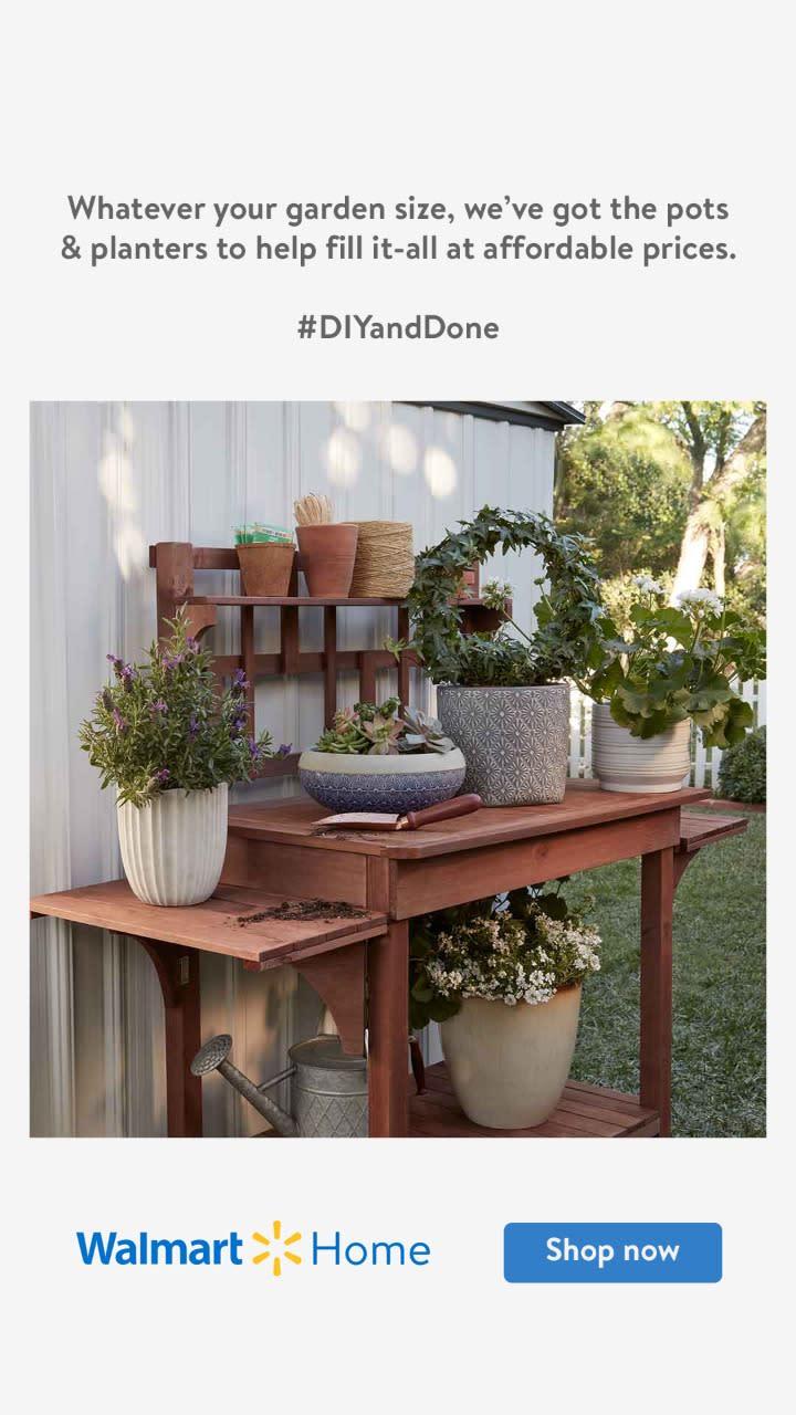 Easy ordering. Easy DIY - garden