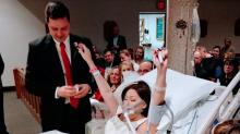 Cancer-stricken bride dies 18 hours after wedding