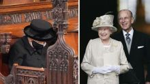 Queen kept treasured mementoes of Philip close during funeral