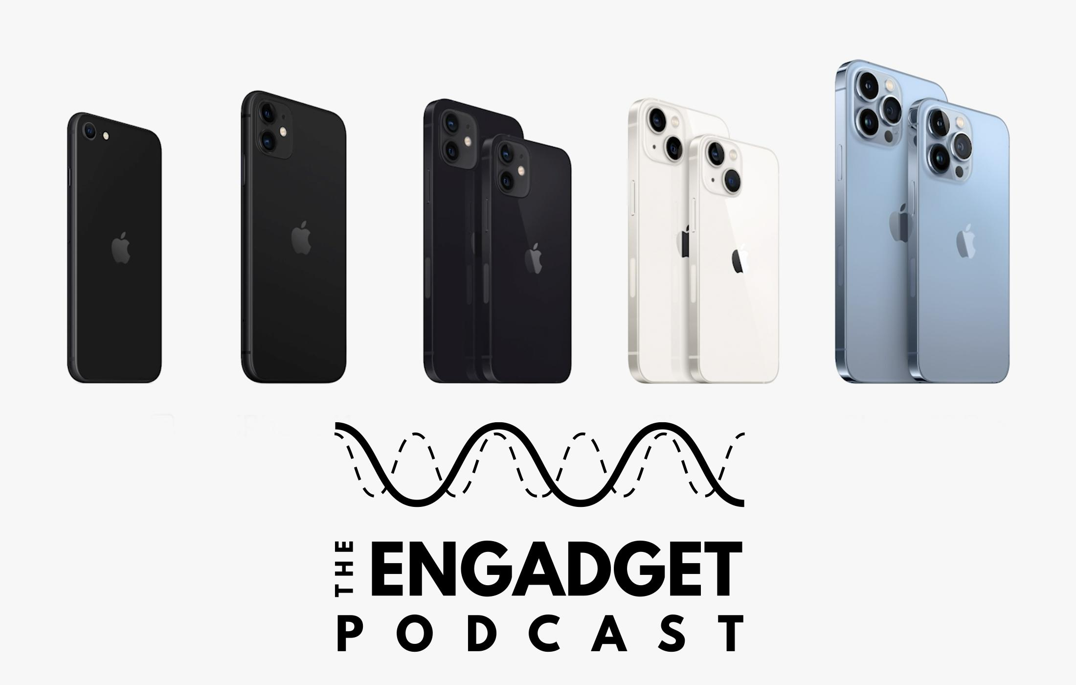 Engadget Podcast iPhone 13 series