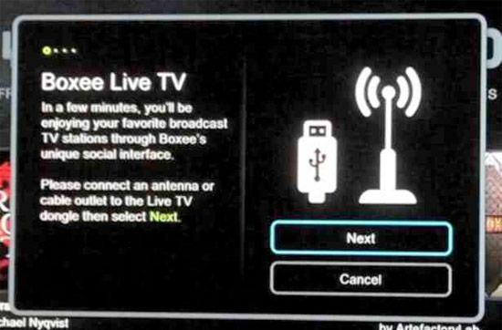 Boxee Box may integrate live TV via USB dongle, push the definition of 'awesome' to a new level