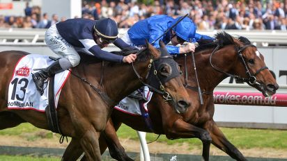 Best Solution stuns fans for Caulfield Cup glory