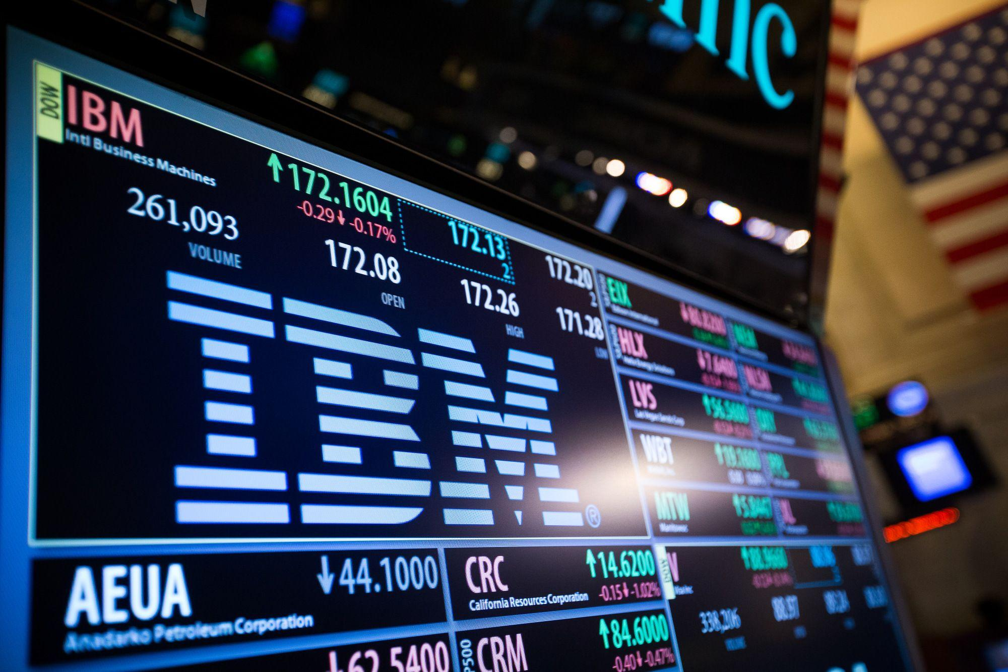 IBM Revenue Beats Estimates, Buoyed by Growth in Cloud Sales -