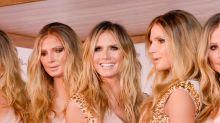 """Heidi Klum's Clones Costume Cost """"$10 Million"""""""