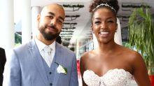 Cantora Iza se casa com produtor musical no Rio de Janeiro