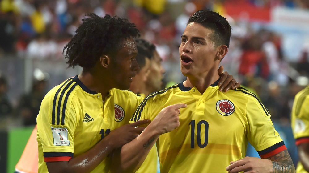 """Enloqueció James Rodríguez: """"¡Estamos en el Mundial, hijueputa!"""""""