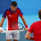 Olympics-Tennis-Swiss Bencic clinches gold as Djokovic exits without medal