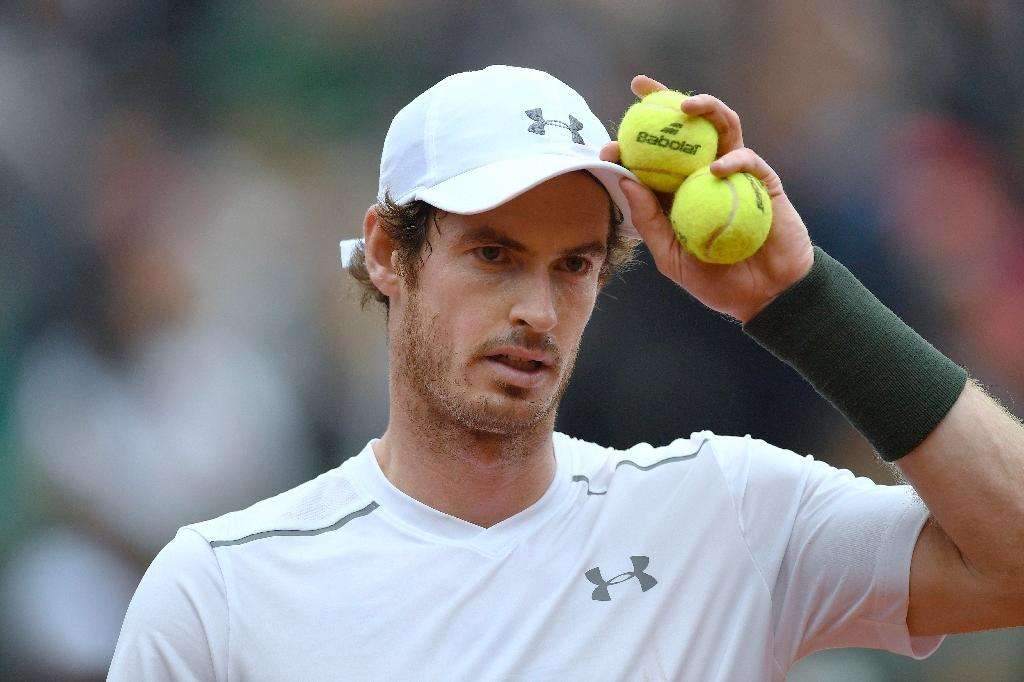 Andy Murray is attempting to become the second British man to win the Roland Garros title after Fred Perry, who won the title in 1935 (AFP Photo/Miguel Medina)