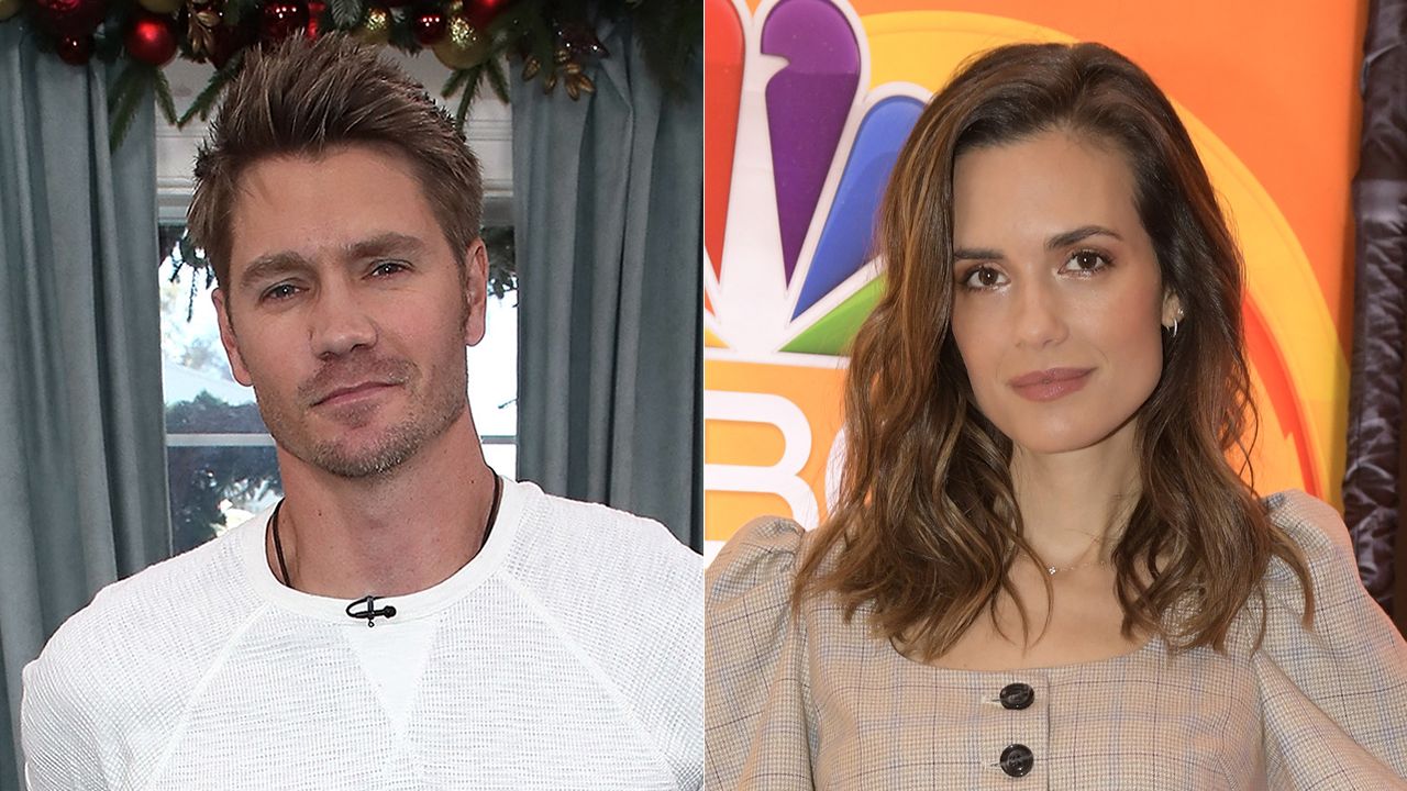 One Tree Hill S Chad Michael Murray And Torrey Devitto Reunite For Hallmark Christmas Movie Exclusive