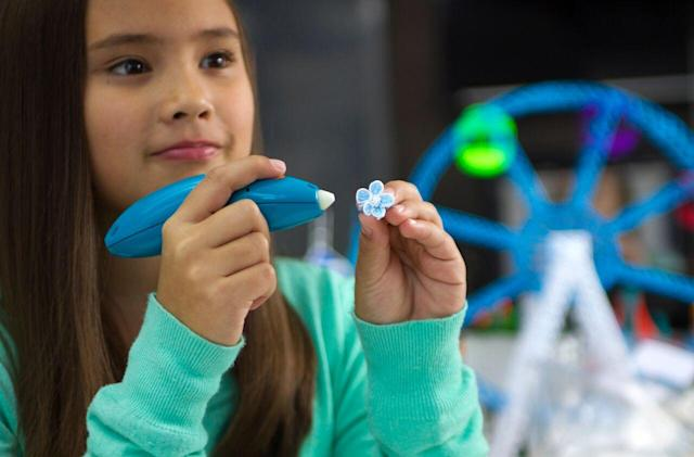 3Doodler is back with a cute, safe 3D printing pen for kids