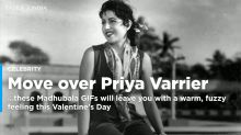 Move over Priya Varrier, these Madhubala GIFs will leave you with a fuzzy warm feeling this Valentine's Day