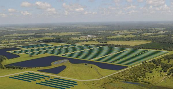 America's (newest) largest solar plant set to go live in Florida