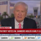 MSNBC host urged to quit after comparing Bernie Sanders win in Nevada to Nazi invasion