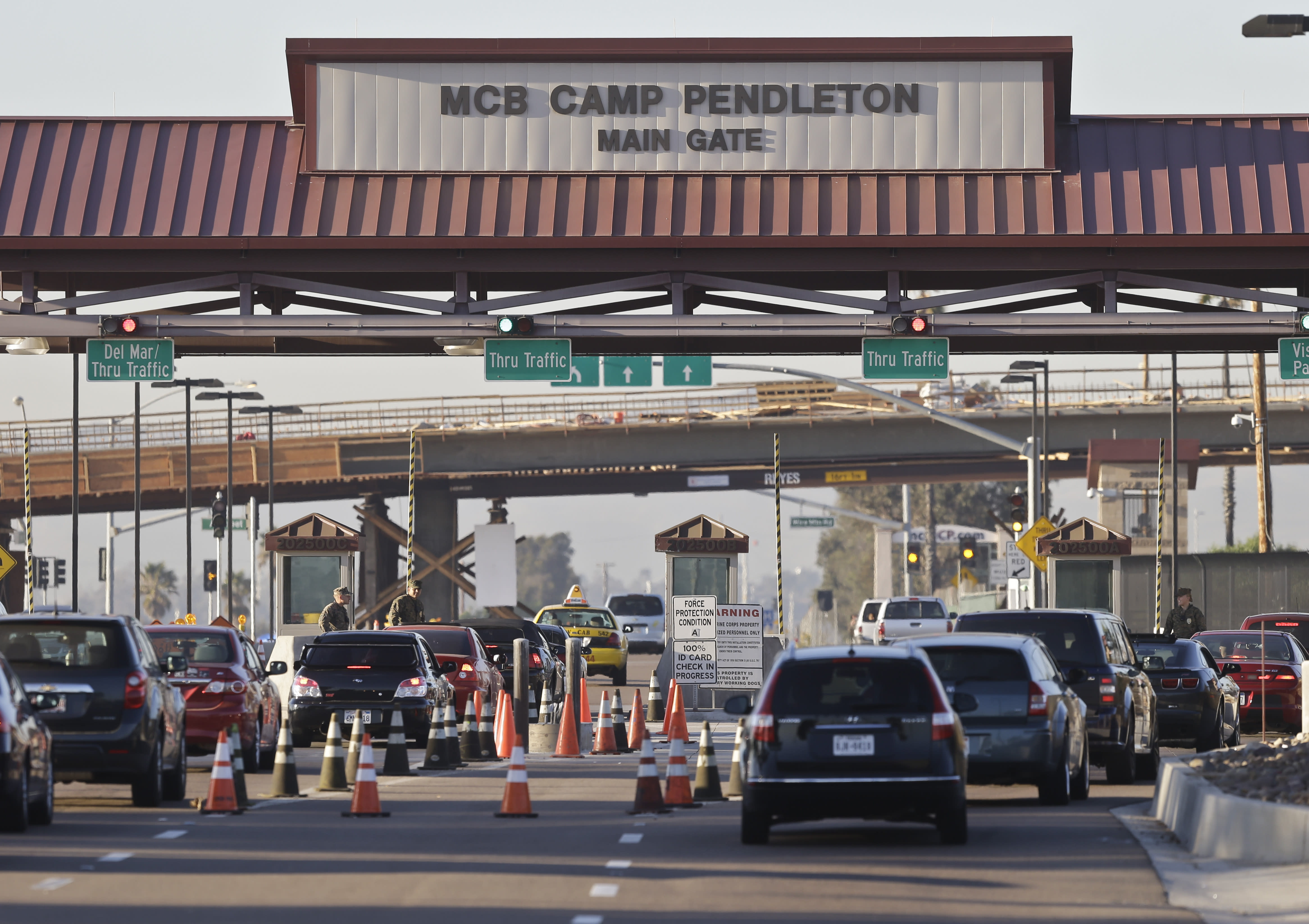 Marines arrested for alleged crimes including human smuggling, drug-related offenses