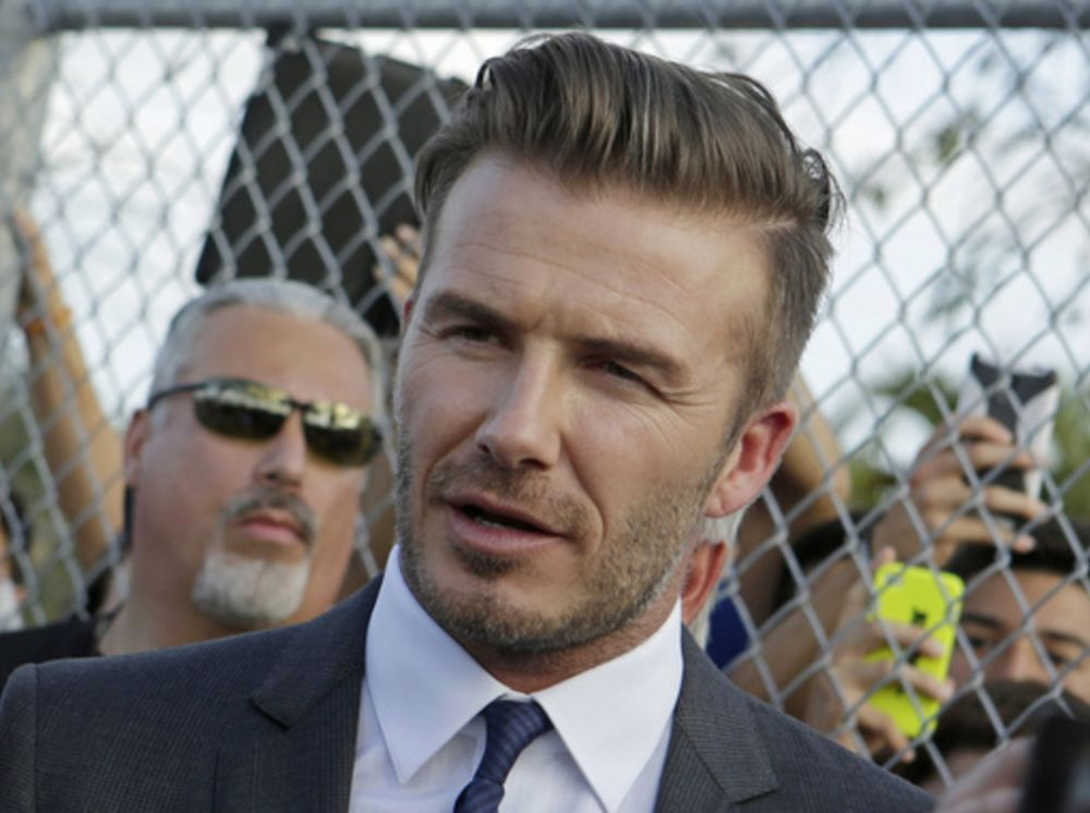 AP Interview: Beckham hits campaign trail in Miami