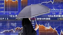 Asian stocks recoup some losses as dollar gains