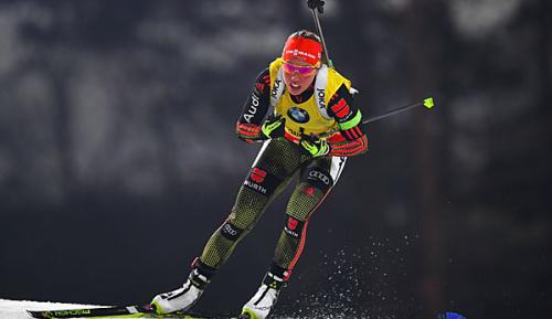 Biathlon: Dahlmeier gewinnt Kristallkugel in der Verfolgung