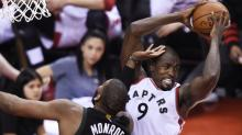 Serge Ibaka's big blocks lead to instant offence for Raptors
