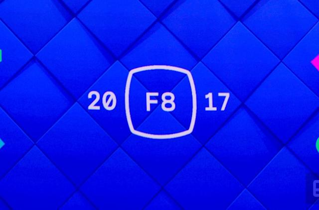 Live from F8, Facebook's annual developer conference!
