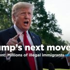 Trump says U.S. agency will begin removing millions of illegal immigrants