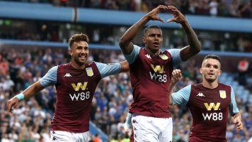 Villa earn first win of Premier League season