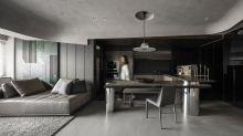 體現時間流動的美感,讓家成為一座簡約俐落的美術館