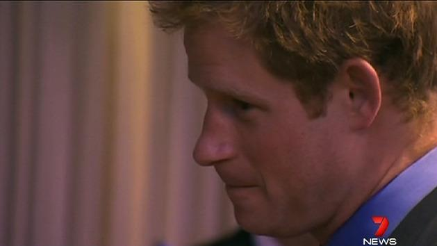Prince Harry begins US tour