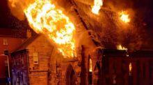 Glasgow, distrutta dalle fiamme la chiesa polacca di Saint Simon