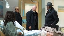 EastEnders: Phil Mitchell confronts Denise Fox about their baby