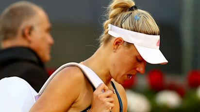 Kerber excited by tough Paris test
