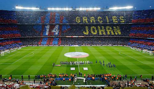 Primera Division: Barcelona benennt Stadion nach Cruyff