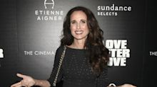 Andie MacDowell talks filming nude scenes at 59 for latest movie