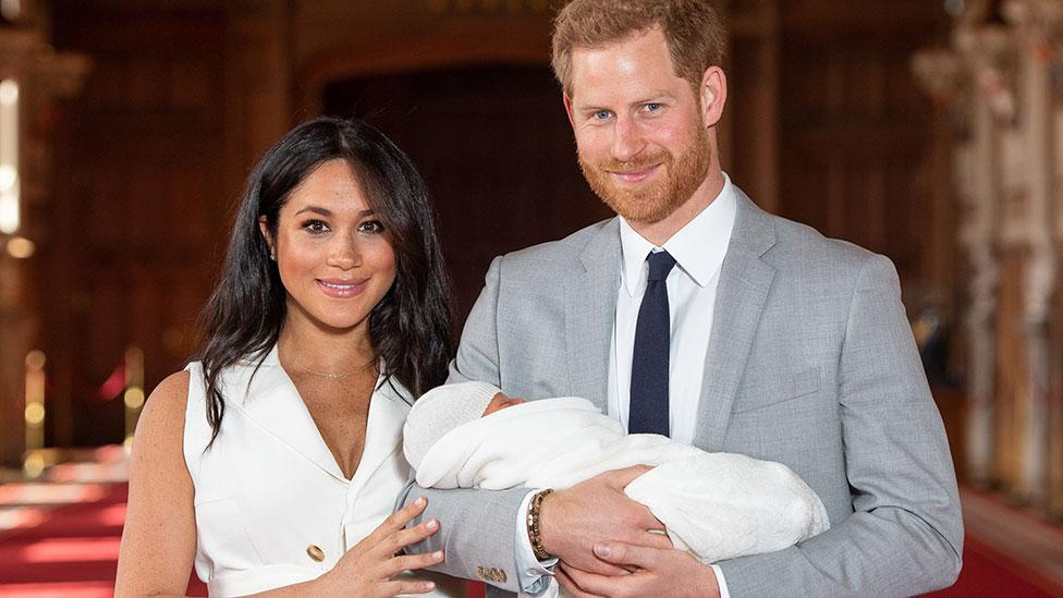 Harry and Meghan 'flew to Ibiza on private jet' with Archie