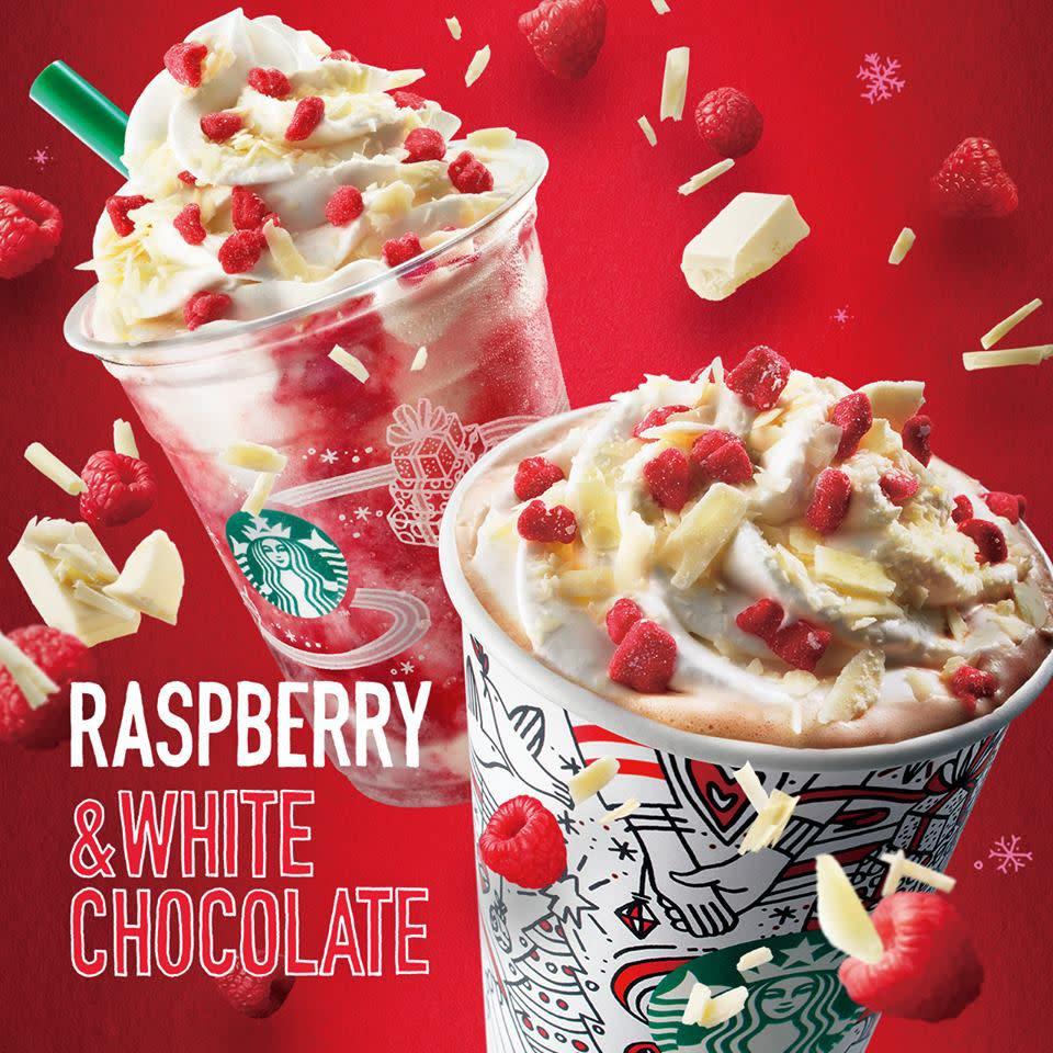 Starbucks Christmas Menu.Starbucks Is Adding A Christmas Strawberry Cake Frappuccino