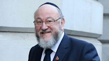 Britain's Chief Rabbi Warns Of 'Poison' In The Labour Party 'Sanctioned From The Top'